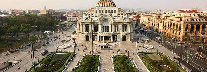 Palacio de Belas artes - Museu em Cidade do México