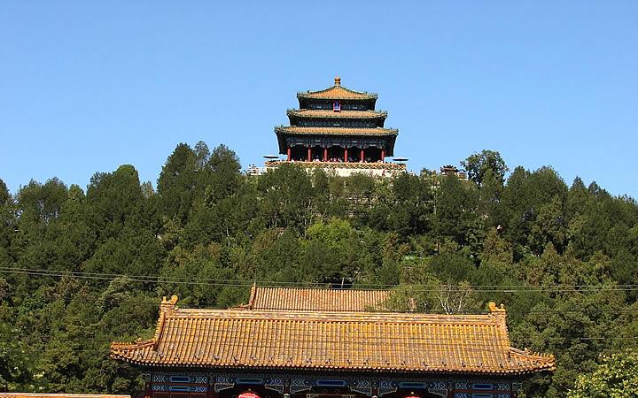Parque Jingshan em Pequim