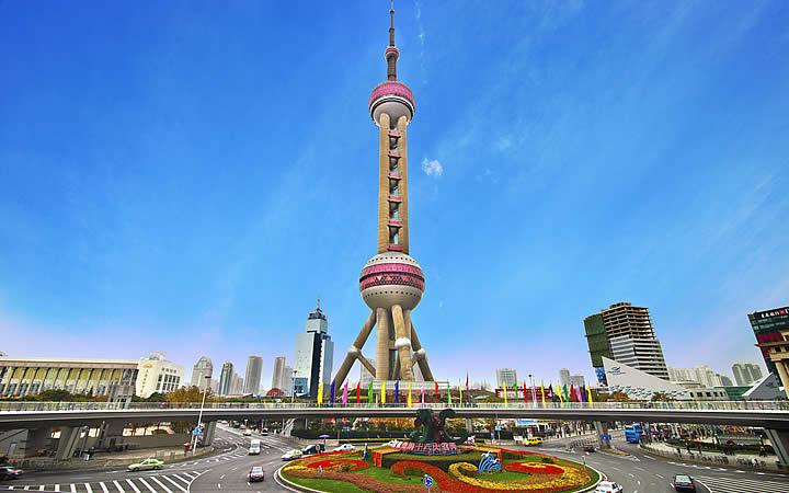 Pearl tower em Xangai