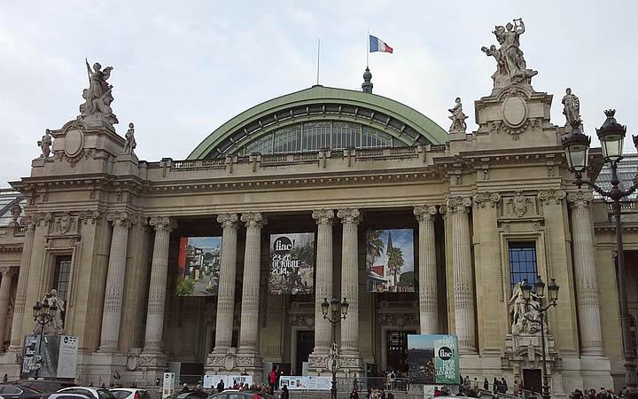 Petit e Grand Palais em Paris