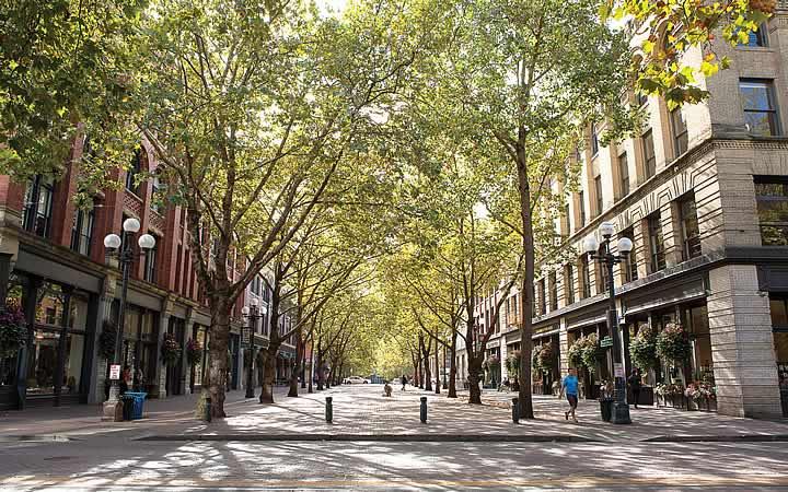 Pioneer Square em Seattle