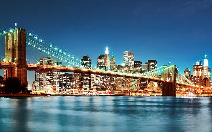 Ponte do Brooklyn em Nova Iorque