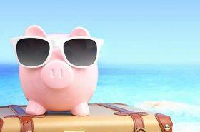 Porquinho de juntar dinheiro - Como economizar na Viagem