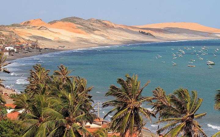 Praia Redonda em Ceará