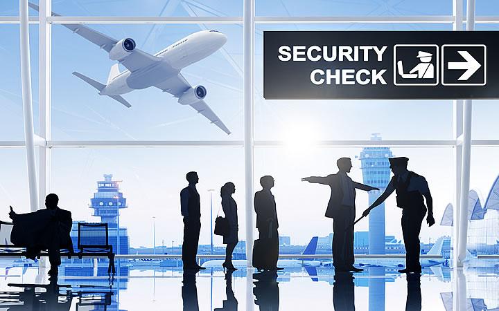 Processo de Segurança no aeroporto