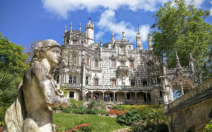 Quinta de Regaleira em Sintra