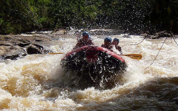 Rafting em Capixabas - ES
