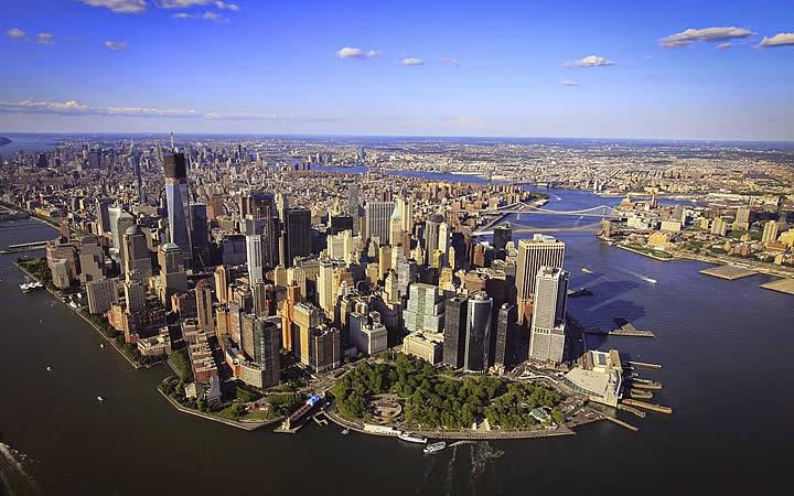 Região de Downtown em Nova Iorque