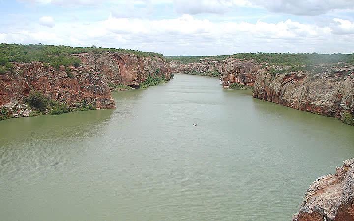 Rio São Francisco em Minas Gerais