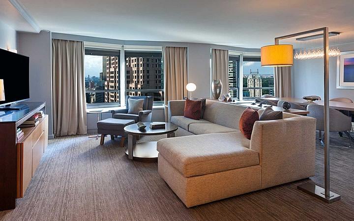 Sala de um hotel - Nova Iorque