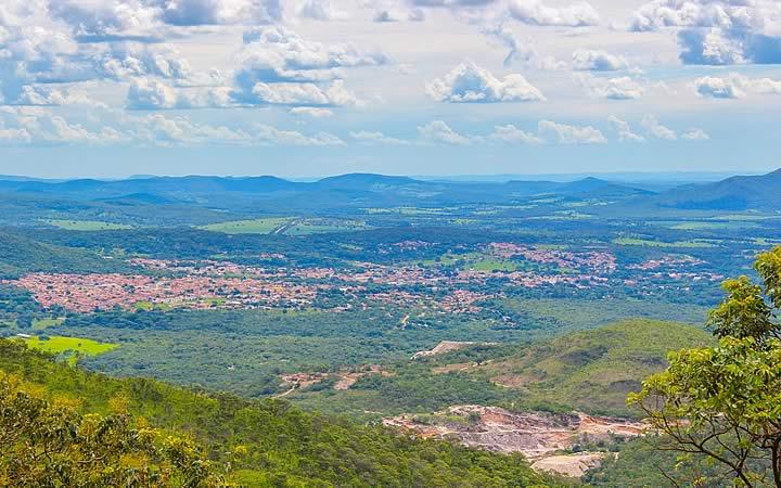Serra dos Pirineus em Pirenópolis