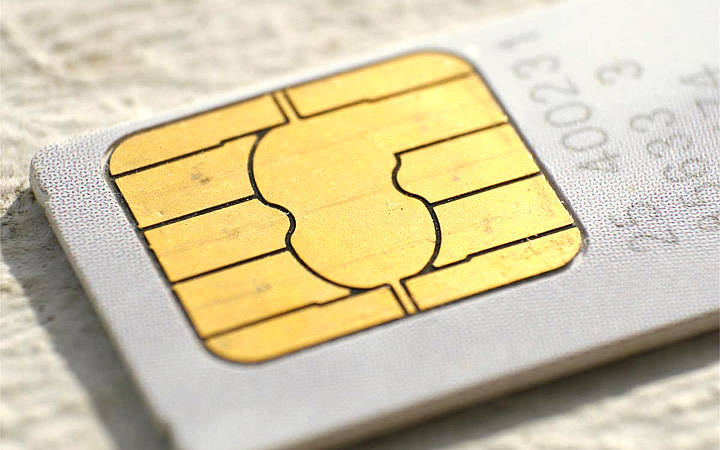 Simcard ou Chip