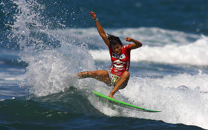 Surfista em Itacaré