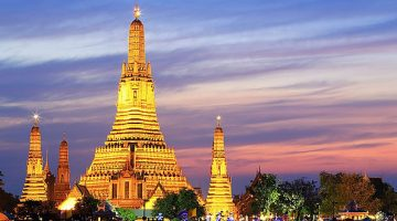 Temple of dawn em Bangkok