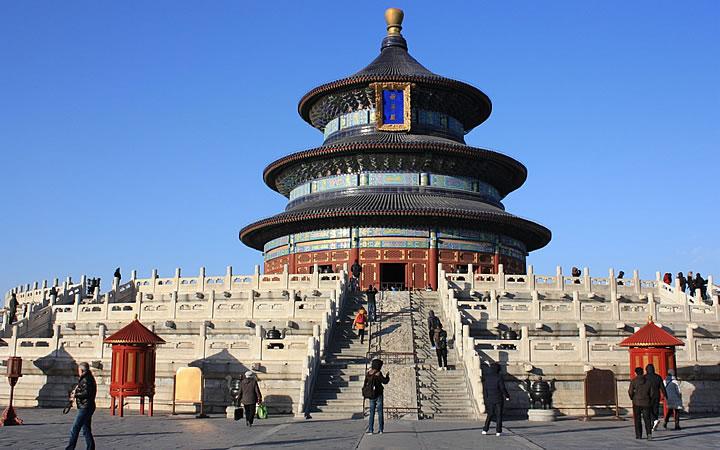 Templo do céu em Pequim