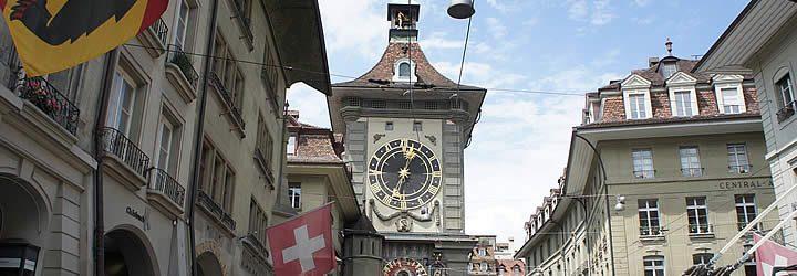 Torre do relógio em Berna - Suíça