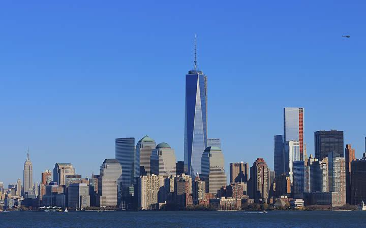 Torre gêmeas em Nova Iorque