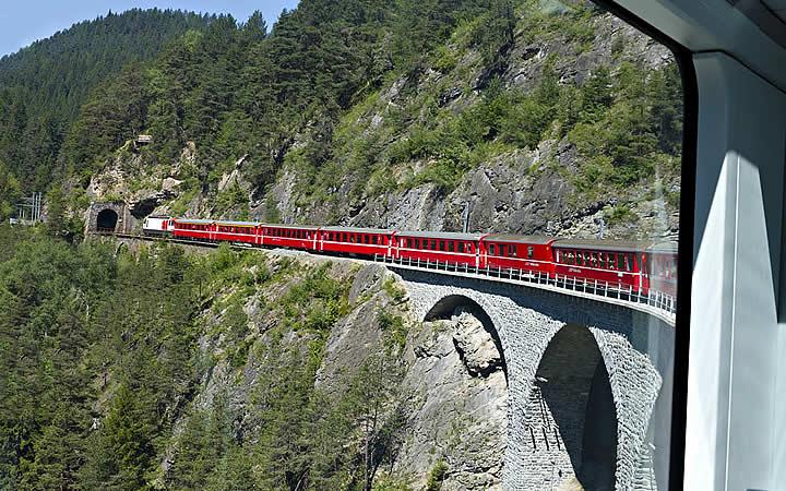 Trem Glacier Express - Dicas de Passeio de Trem na Suíça