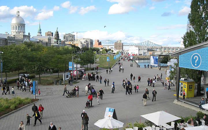 Vieux-Port em Montréal