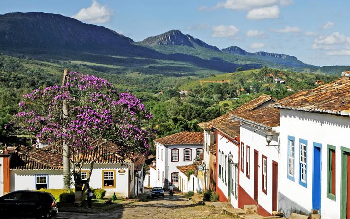 Vista da Serra de São José em Tiradentes MG