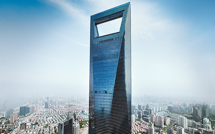 World Financial Center em Xangai
