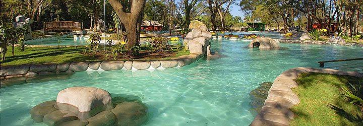 Águas Termais no Brasil - Parque das águas quentes