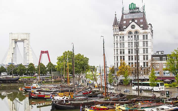 Casa Branca em Roterdã