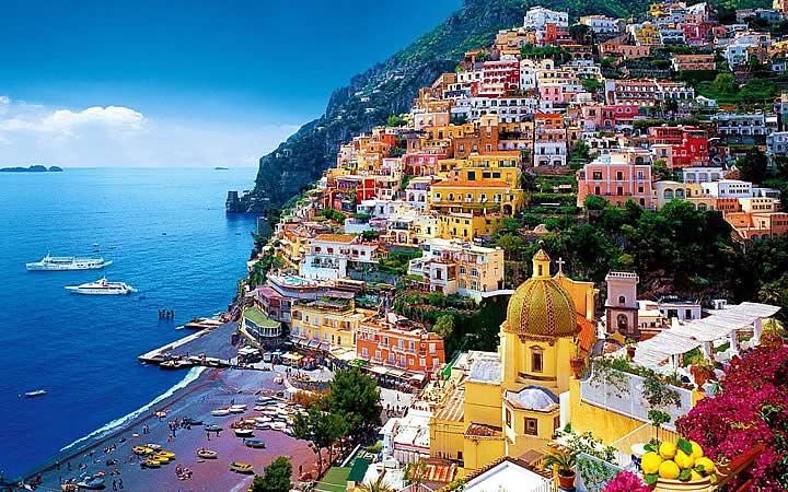 Costa Amalfitana em Nápoles