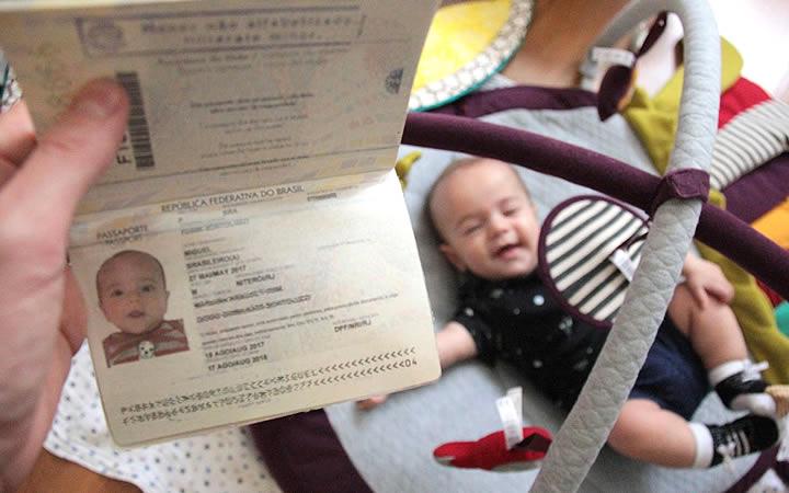 Documentação da Criança ou Bebê - Viajar com crianças em avião
