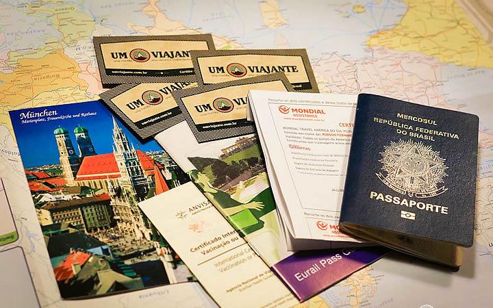 Documentação para viagem