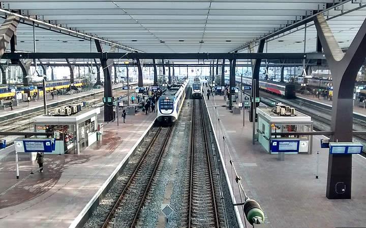 Estação de Trem em Roterdã
