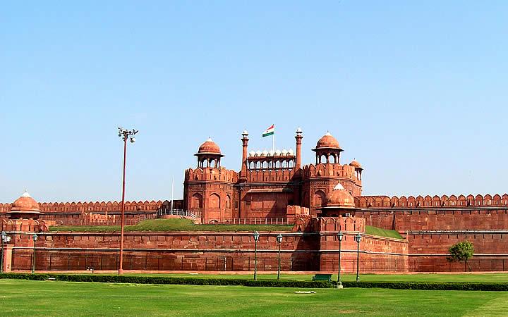 Forte vermelho - Índia