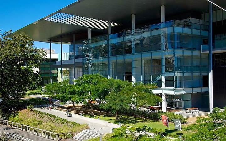 Galeria de Arte Moderna em Brisbane