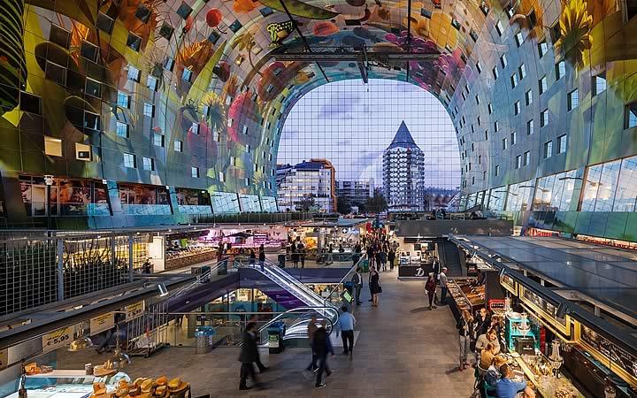 Markthal em Rotterdam