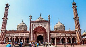 Mesquita em Nova Delhi