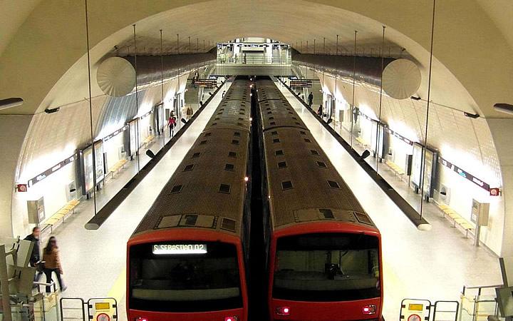 Metrô em Lisboa