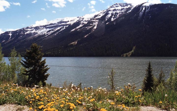 Montanhas do Parque Nacional de Banff