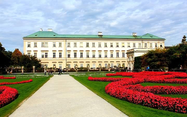 Palácio Mirabell em Salzburg