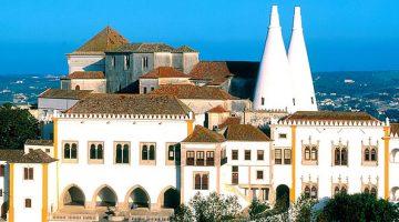 Palácio Nacional de Sintra em Portugal