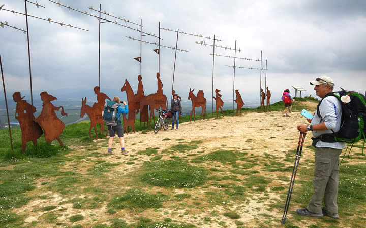 Pamplona - Rota para os que percorrem o Caminho de Santiago