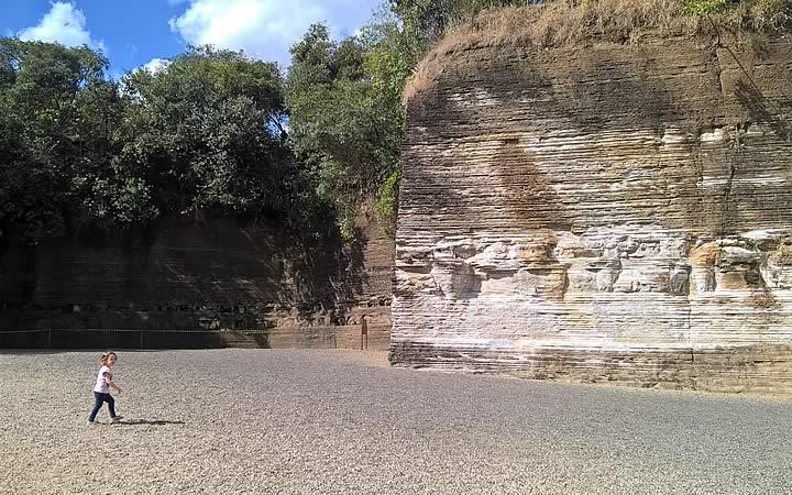 Parque do Varvito em Itu