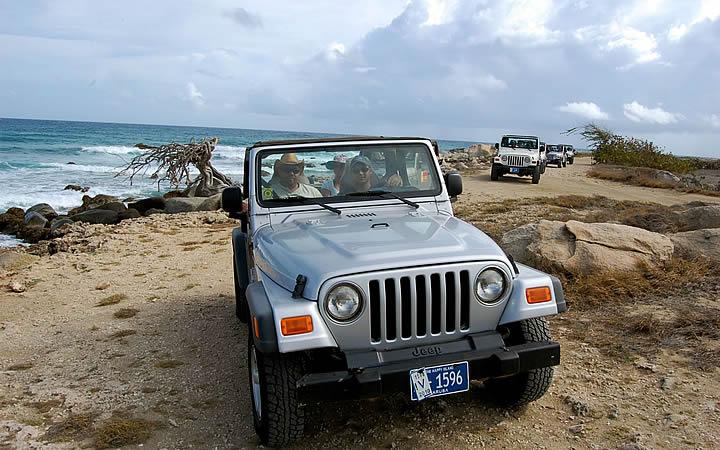 Passeio de carro em Aruba