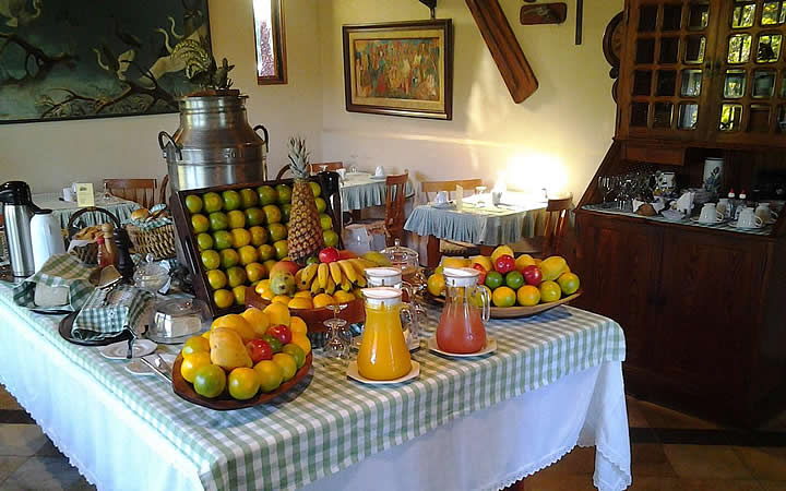Pousada Monte Imperial - Café da manhã