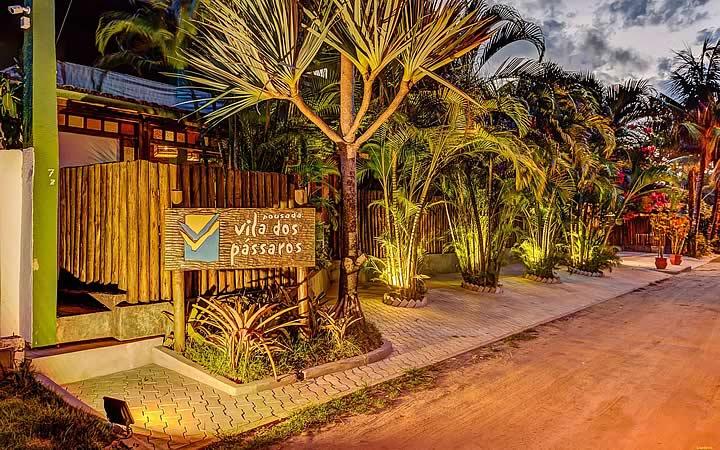 Pousada Vila dos Pássaros em Itacaré