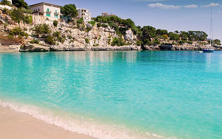 Praia em Maiorca