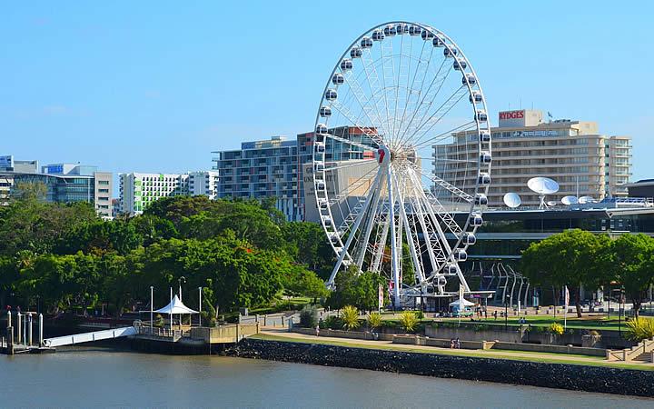 Roda Gigante em Brisbane