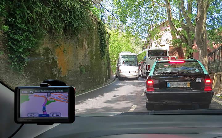 Ruas em Sintra