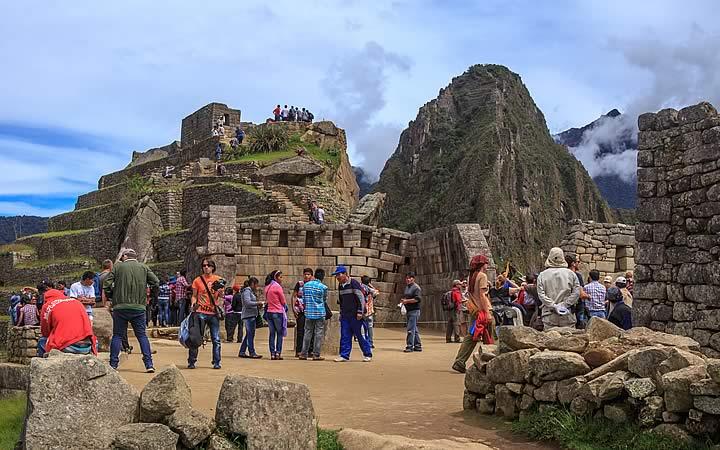Sítio Arqueológico em Machu Picchu