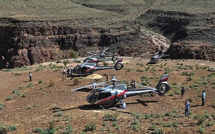 Sobrevoar pelo parque Grand Canyon