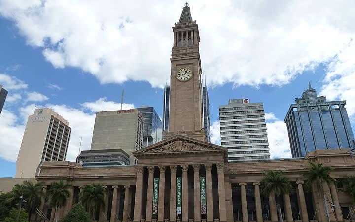 Torre do relógio em Brisbane